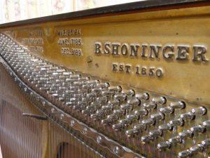 製造後100年経過しているアメリカ製ピアノ修理